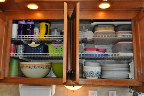 Glass Kitchen Canisters Airtight 24 Easy Rv Organization Tips