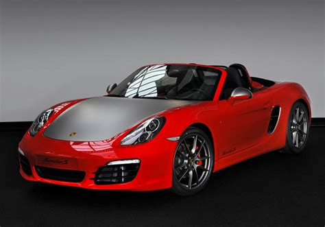 porsche boxster red porsche boxster s red 7 edition introduced in the