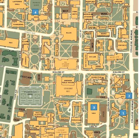 mizzou housing missouri state cus map afputra com