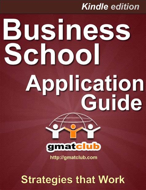 Gmat Club Mba Application Guide by Business School Application Guide Authorstream