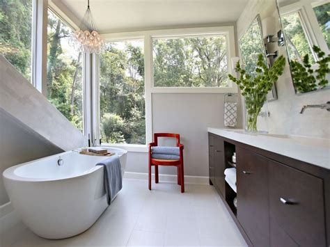 small bathroom design ideas small bathroom ideas on a budget hgtv