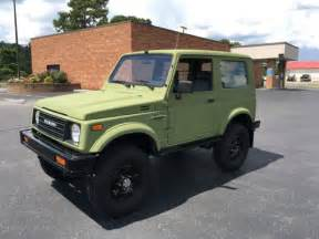 1986 Suzuki Samurai For Sale 1986 Suzuki Samurai Tin Top Restoration For Sale Photos