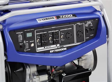 yamaha ef7200de generator consumer reports