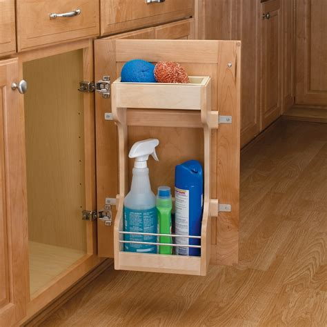 Kitchen Sink Shelf Organizer Rev A Shelf Sink Storage System 13 1 2 Quot W 4sbsu 18 Cabinetparts