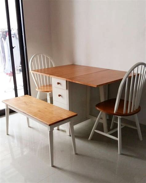 Meja Makan Lipat 15 model meja makan lipat minimalis terbaru 2018 dekor rumah