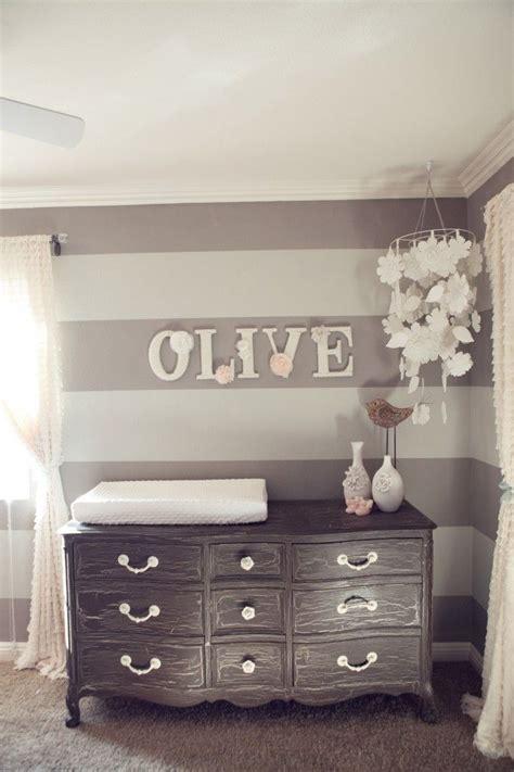 vintage kinderzimmer diy nursery design with baby name on wall homedesignboard