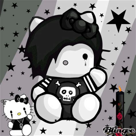 Imagenes De Hello Kitty Triste | hello kitty triste fotograf 237 a 87298022 blingee com