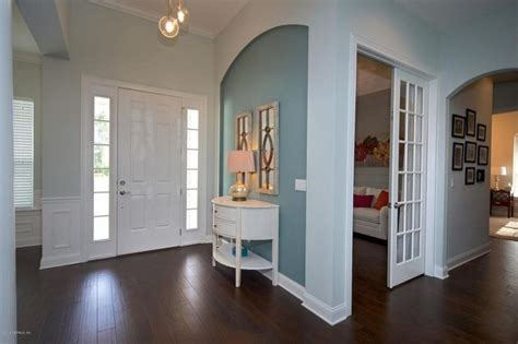 gorgeous foyers  wainscoting wainscoting teal