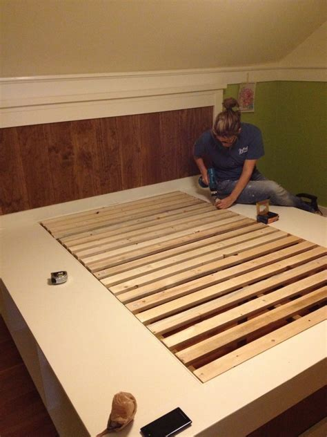 diy farmhouse bed from 2 ana white plans diy farmhouse bed from 2 ana white plans ferris built
