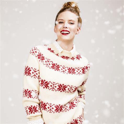 womens pattern christmas jumper free knitting patterns knit a scandinavian jumper