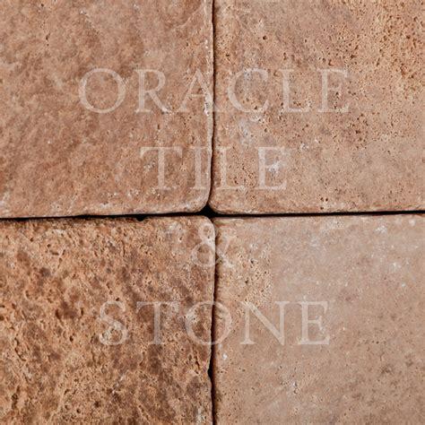 field tile andean walnut travertine 6 x 6 field tile oracle tile