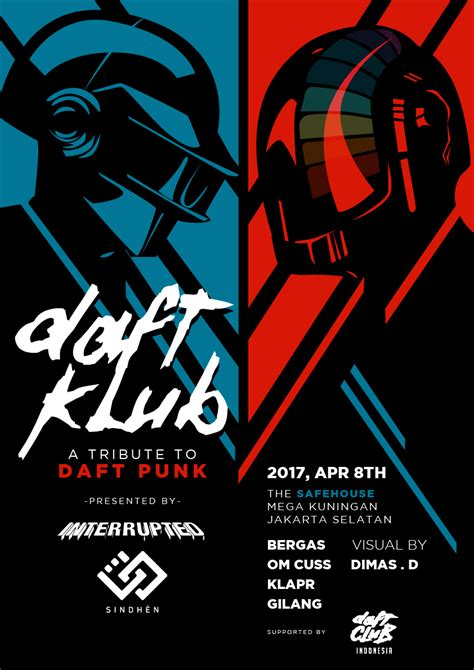 daft punk indonesia daft klub a tribute to french duo daft punk to be held