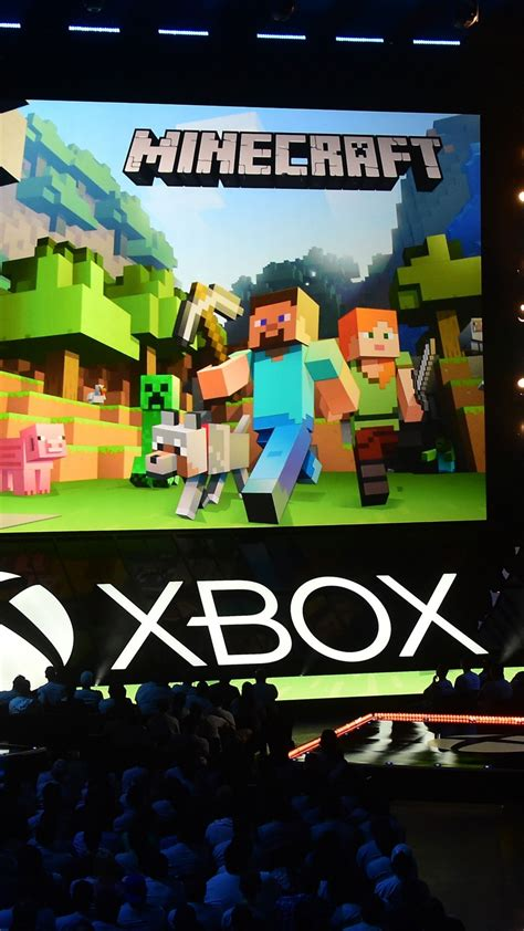 wallpaper minecraft    xbox   games