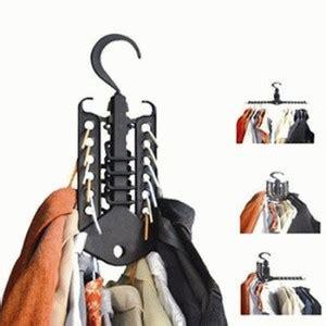 Magic Hanger 1 Gantungan Bisa 6 Baju Kuat Tidak Mudah Jatuh magic hanger gantungan baju multifungsi 245 produk albc