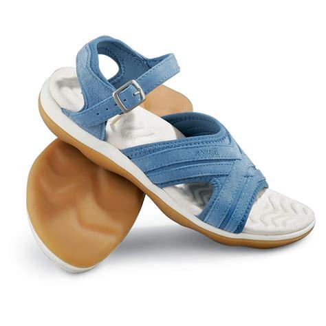 ryka sandals s ryka 174 sandals denim blue 96770 sandals flip
