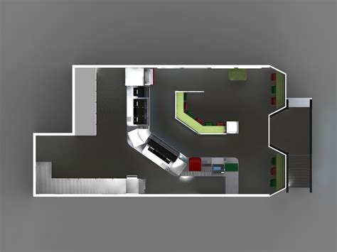 layout of subway restaurant ergonomic re design of a subway sandwich restaurant by