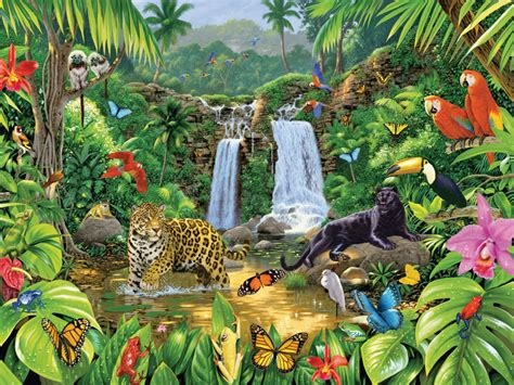 animal jungle jungle animals wallpaper wallpapersafari