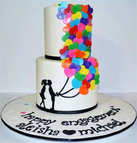 Engagement Cake Designs by 7 Adorable Engagement Cake Designs For The Winsome