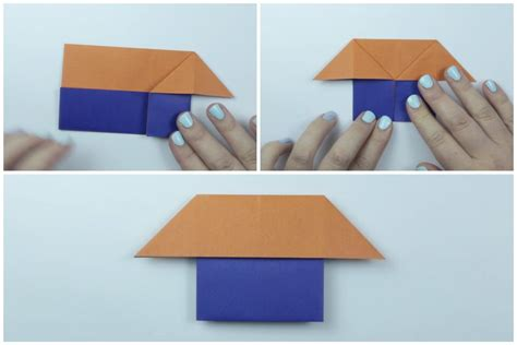 Easy Origami House - easy origami house tutorial