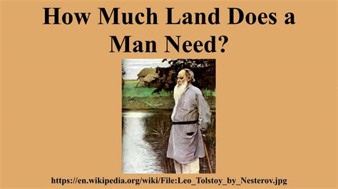 how much land do you need to build a house land century how much land does a man need youtube