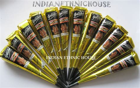 where do they sell henna tattoo kits 12 black color herbal henna cones temporary
