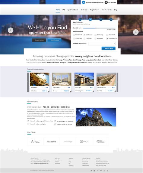 tutorial website template free download travel booking website design template psd download
