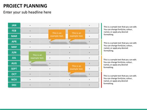 powerpoint template project plan project planning powerpoint template sketchbubble