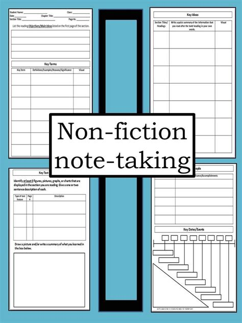 best note taking template best 25 note taking strategies ideas on
