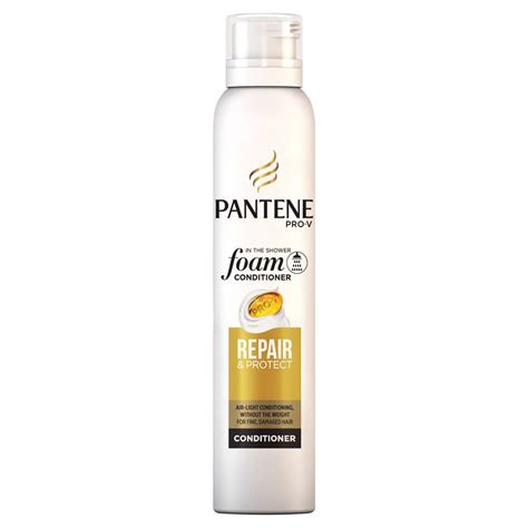 pantene hair conditioner pantene pro v repair protect foam conditioner 180ml hair