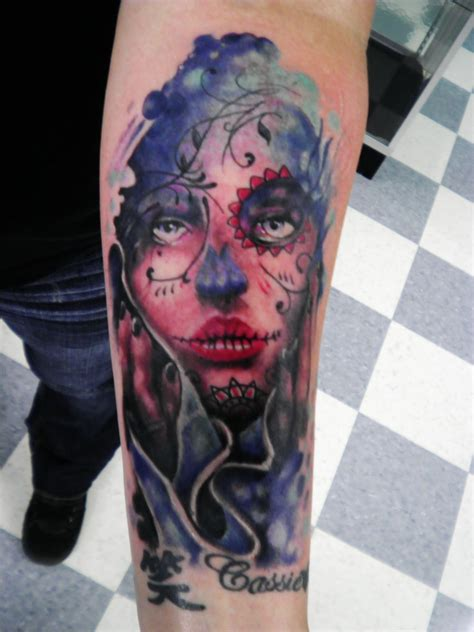 tattoo pictures day of the dead day of the dead tattoo by tattoosbyjon on deviantart