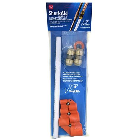 carpet patch kit home depot sharkbite 1 2 in burst pipe repair kit 24953 the home depot
