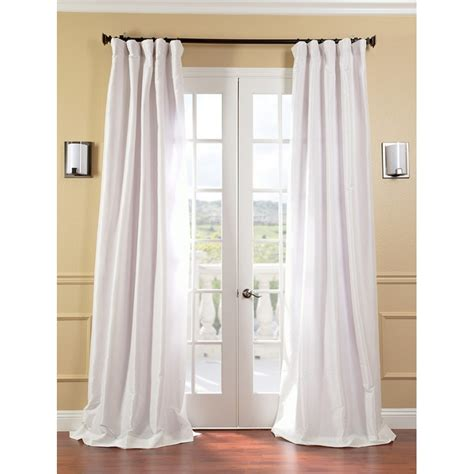 taffeta drapery panels exclusive fabrics and furnishings solid faux silk taffeta