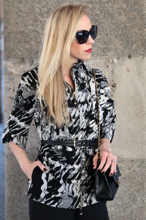 Mellan Fashion Jaket Abu milan fashion week statement jacket meagan s moda