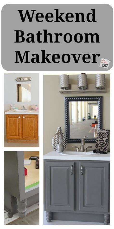 Diy Bathroom Vanity Makeover Before And After Makeovers 20 Most Beautiful Bathroom Remodeling Ideas Noted List