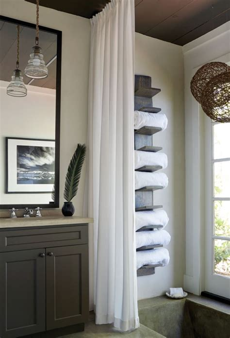 25 best ideas about bathroom towel storage on