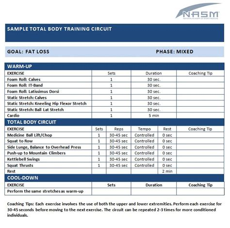 nasm opt template 15 best nasm sle exercise programs images on