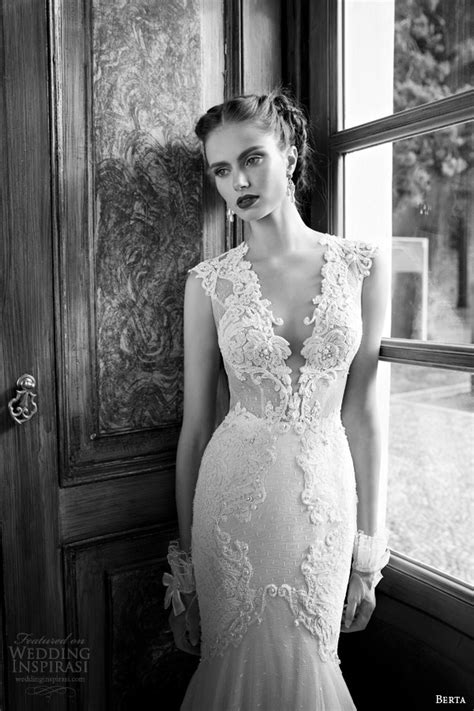Berta Wedding Dresses – Wedding Dresses by Berta Bridal Fall 2015   Belle The Magazine