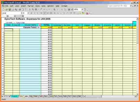 Monthly Expenses Template Excel by 5 Business Monthly Expenses Spreadsheet Excel