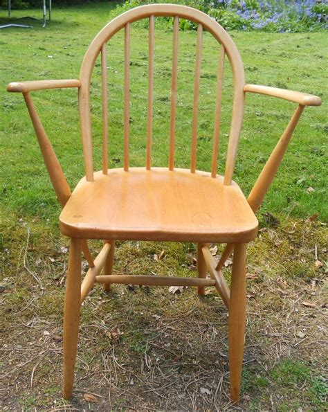 kitchen armchairs set of four light elm kitchen armchairs by ercol