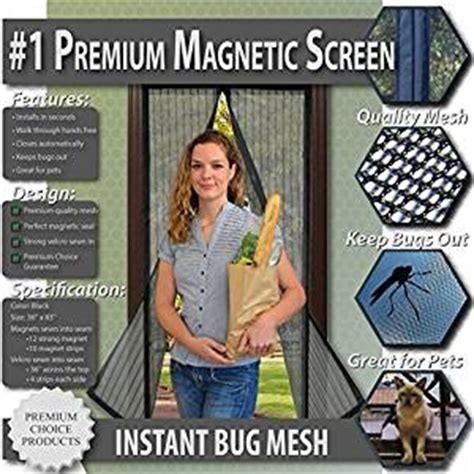 door fans to keep bugs out premium magnetic screen door keep bugs out lets fresh