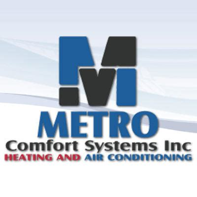 comfort systems metro comfort systems heating and air conditioning