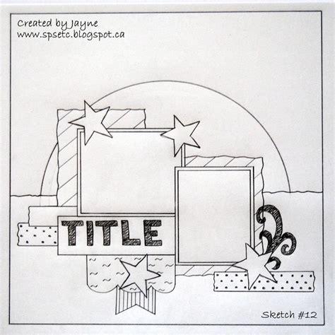scrapbook layout sketches book 880 best images about schetsen scrapbooking on pinterest