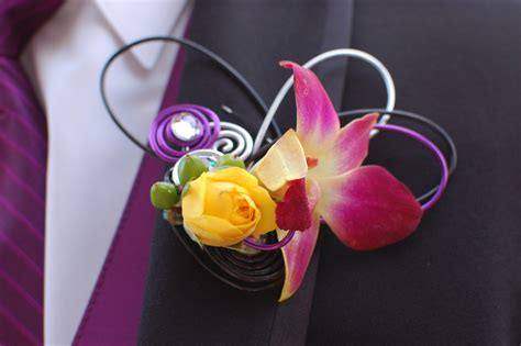 trendy corsages prom time what is your prom style