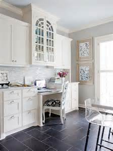 kitchen built in desk transitional kitchen sherwin williams knitting needles andrea