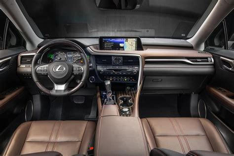 lexus rx interior 2016 lexus rx 350 and rx 450h look and feel for the