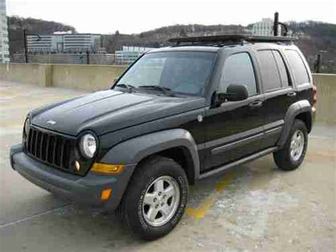 2006 Jeep Liberty Diesel Fuel Economy Purchase Used 2006 Jeep Liberty Sport Sport Utility 4 Door