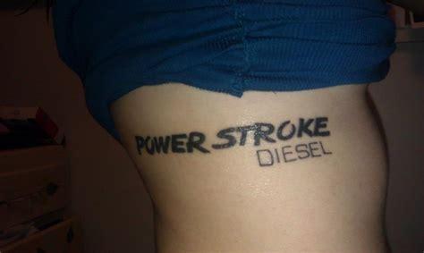 diesel tattoo power stroke diesel tattoos from diesel tees fans ink