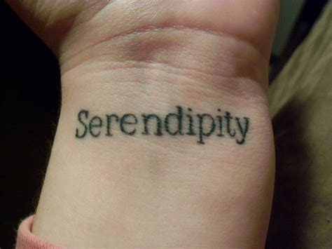 serendipity tattoo gallery for gt serendipity