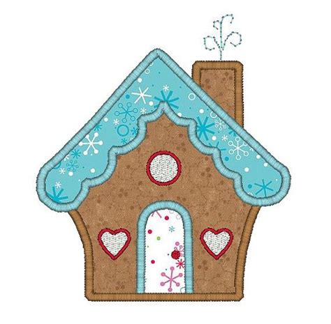 embroidery design house 18 best gingerbread house embroidery designs images on