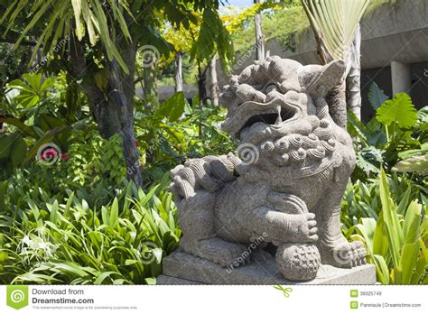 Gartendeko Lions by Asiatique Statue Gate Guardian Et Jardins Images